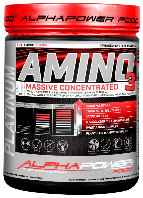 ALPHAPOWER FOOD: Amino 100% Massive 1000 tabs