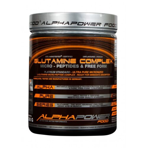 ALPHAPOWER FOOD: Glutamine Complex 300 g