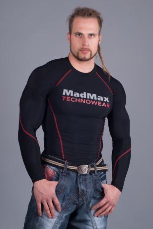Kompresiniai marškinėliai ilgomis rankovėmis