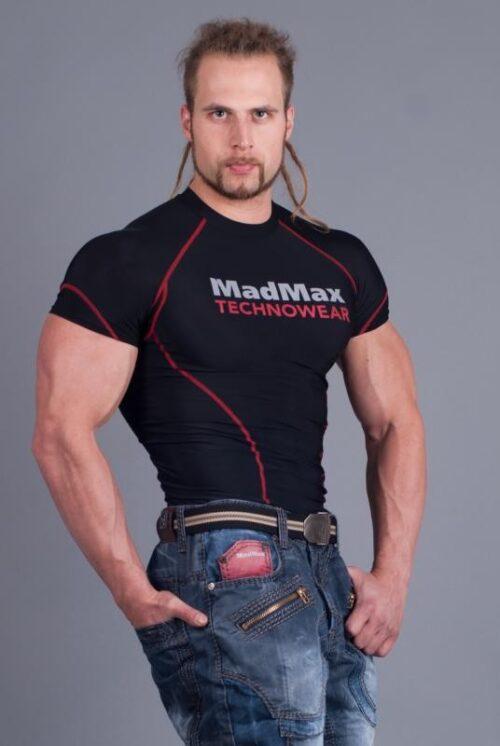 Kompresiniai marškinėliai trumpomis rankovėmis