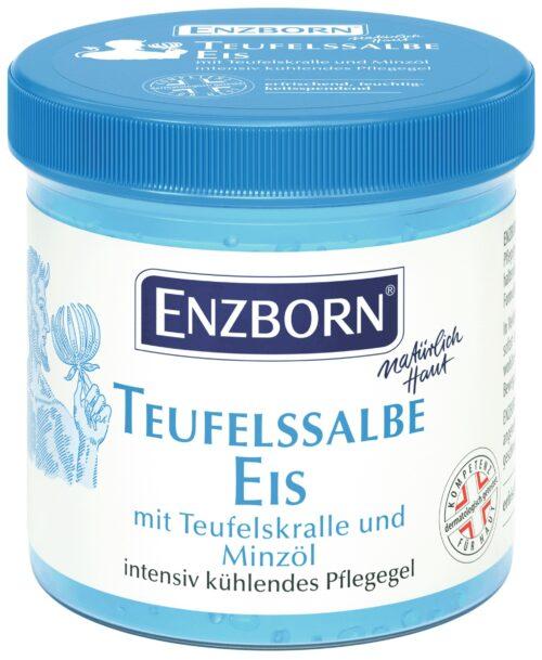 Enzborn šaldantis gelis