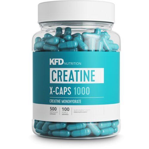 Maisto papildas kapsulėmis Creatine X-Caps 1000