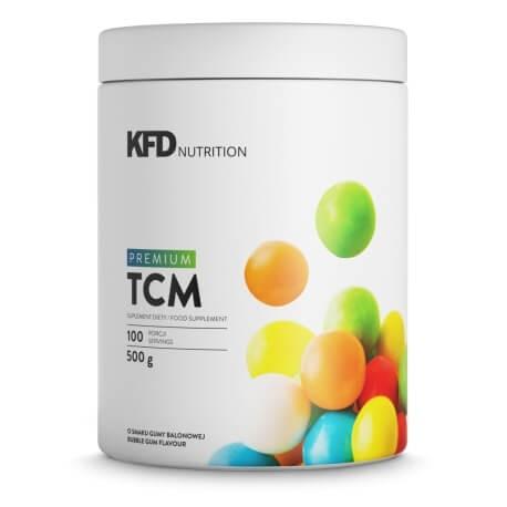 Maisto papildas milteliais premium TCM tri-kreatino malatas su saldikliais