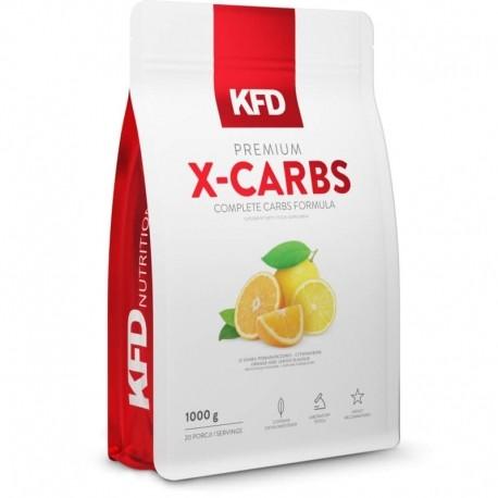 Maisto papildas milteliais premium Carb Mix su saldikliais.