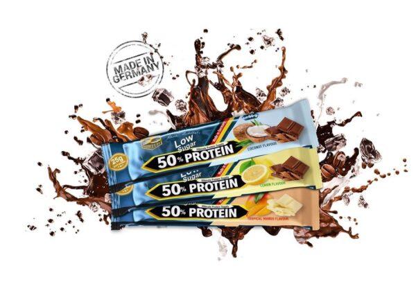 50% protein